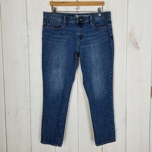 GAP Sexy Boyfriend Fit Skinny Jeans At Waist - 12